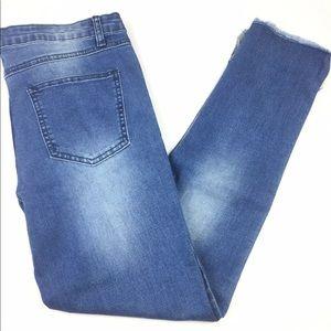 Boohoo Daydreamer Step Hem Skinny Jeans 8
